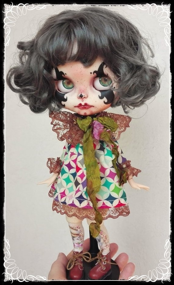 Claudelle - Custom Blythe Doll One-Of-A-Kind OOAK Sold-out Custom Blythes