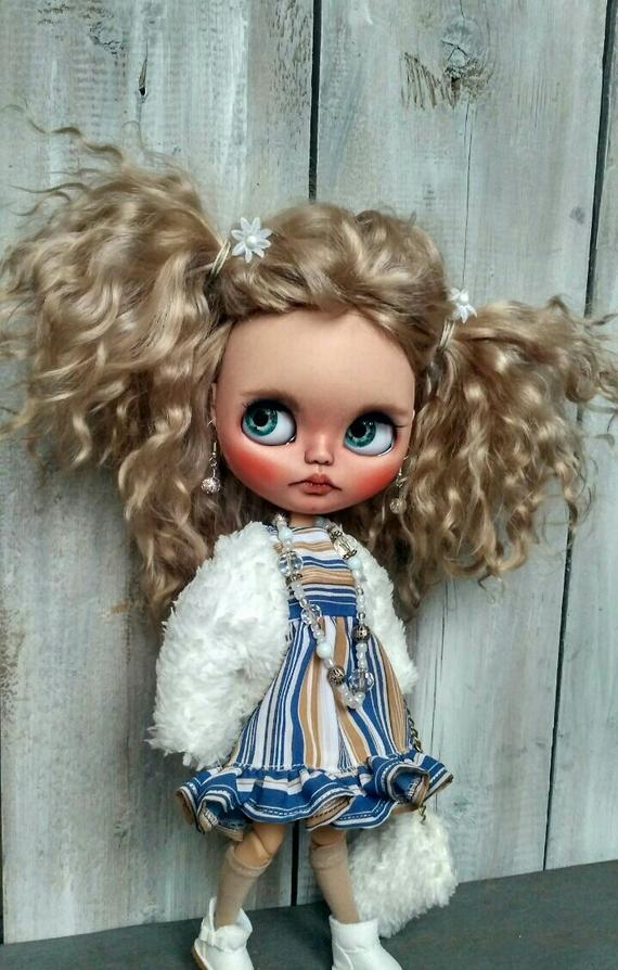 Leticia - Custom Blythe Doll One-Of-A-Kind OOAK Sold-out Custom Blythes