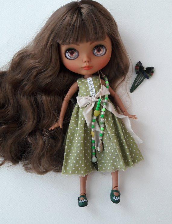 Rilly - Custom Blythe Doll One-Of-A-Kind OOAK Sold-out Custom Blythes