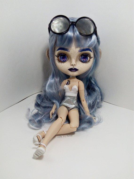 Cara - Custom Blythe Doll One-Of-A-Kind OOAK Sold-out Custom Blythes