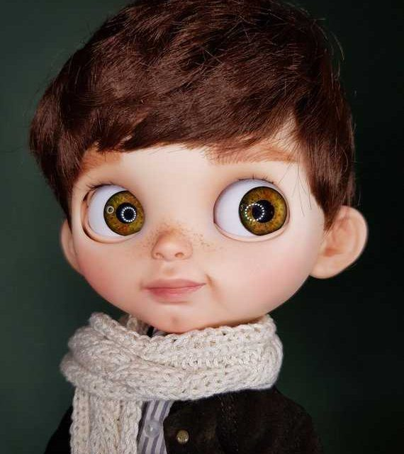 Tony – Custom Blythe Doll One-Of-A-Kind OOAK