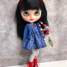 Halle - Boneca Blythe personalizada OOAK