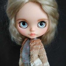 Natalia - Boneca Blythe personalizada OOAK