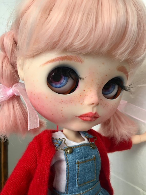 Rita - Custom Blythe Doll One-Of-A-Kind OOAK Sold-out Custom Blythes