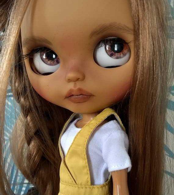 Agnès - изготовленная на заказ кукла Blythe, единственная в своем роде OOAK