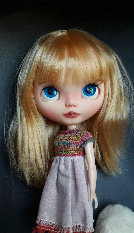Honey - Custom Blythe Doll One-Of-A-Kind OOAK Sold-out Custom Blythes