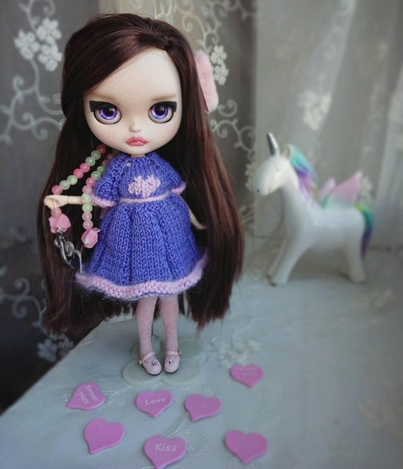 Polly - Custom Blythe Doll One-Of-A-Kind OOAK Sold-out Custom Blythes