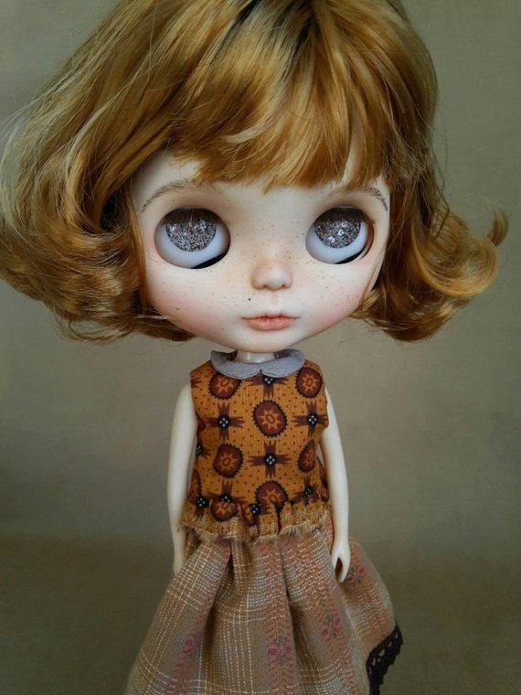 Alyssa - Custom Blythe Doll One-Of-A-Kind OOAK Sold-out Custom Blythes