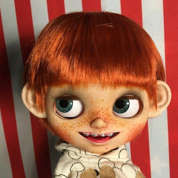 Eliseo – Custom Blythe Doll One-Of-A-Kind OOAK