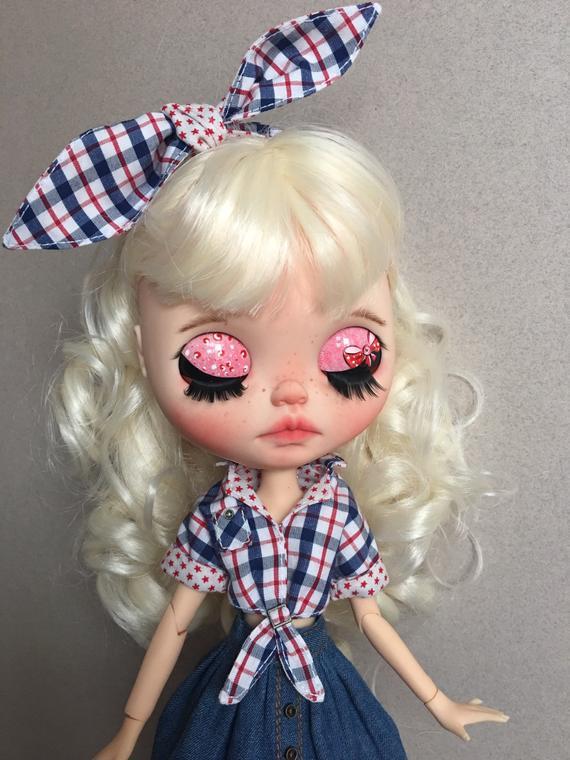 Jamya - Custom Blythe Doll One-Of-A-Kind OOAK Sold-out Custom Blythes