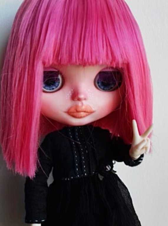 Cora - Custom Blythe Doll One-Of-A-Kind OOAK Sold-out Custom Blythes