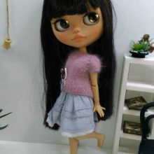 Jaida – Custom Blythe Doll OOAK