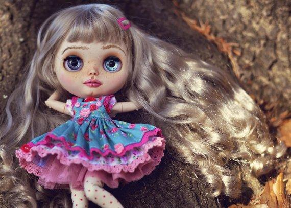 Stephany – Custom Blythe Doll One-Of-A-Kind OOAK