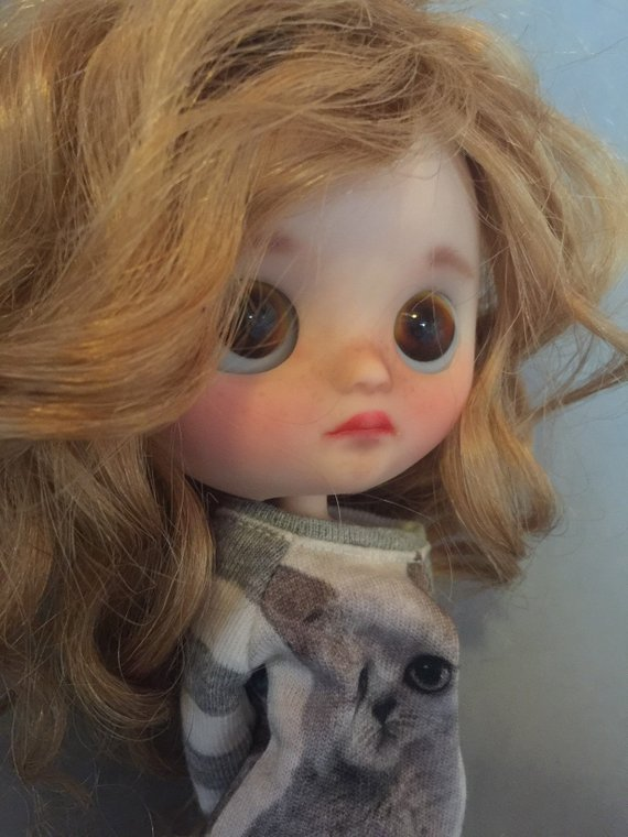 Piper - Custom Blythe Doll One-Of-A-Kind OOAK Sold-out Custom Blythes