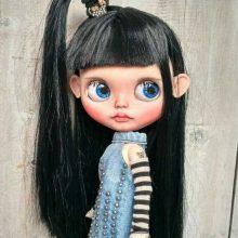 Sara – Custom Blythe Doll OOAK