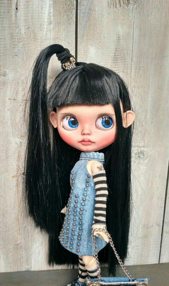 Sara - Custom Blythe Doll One-Of-A-Kind OOAK Sold-out Custom Blythes
