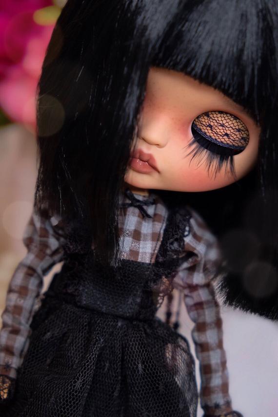Melania - Custom Blythe Doll One-Of-A-Kind OOAK Sold-out Custom Blythes