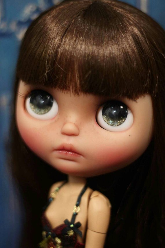 Riya - Custom Blythe Doll One-Of-A-Kind OOAK Sold-out Custom Blythes