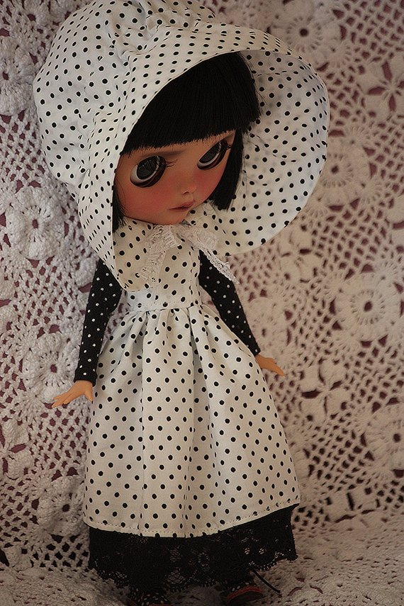 Agnes - Custom Blythe Doll One-Of-A-Kind OOAK Sold-out Custom Blythes