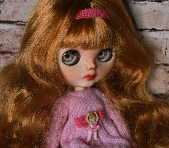 Ciara - Custom Blythe Doll One-Of-A-Kind OOAK Sold-out Custom Blythes