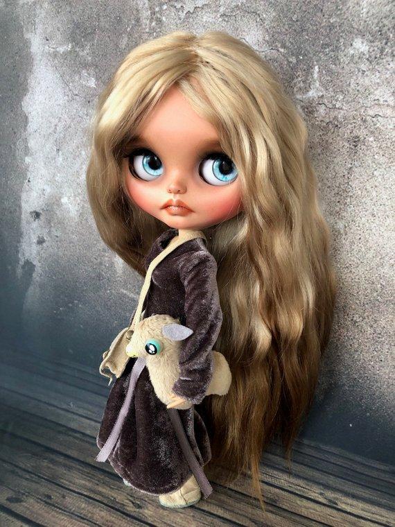 Evdokiya - Custom Blythe Doll One-Of-A-Kind OOAK Sold-out Custom Blythes