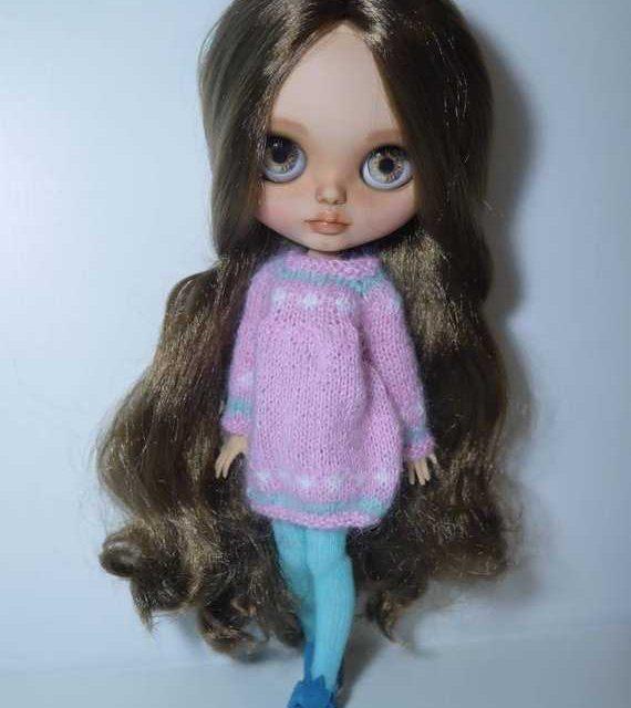 Yasmine – Custom Blythe Doll One-Of-A-Kind OOAK