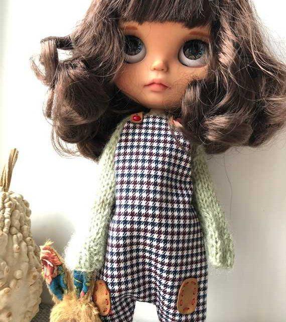 Миша - Custom Blythe Doll OOAK