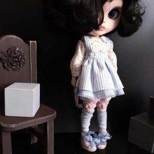 Sasha – Custom Blythe Doll OOAK