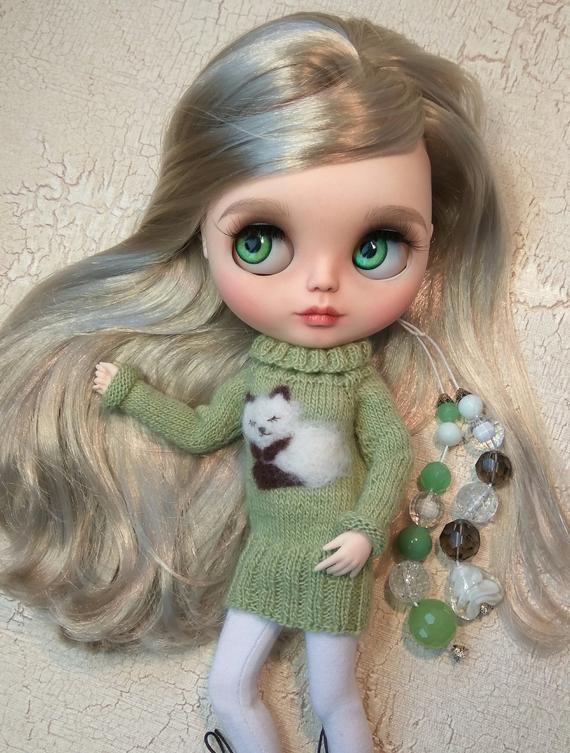 Mishel - Custom Blythe Doll One-Of-A-Kind OOAK Sold-out Custom Blythes