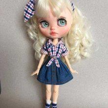 Jamya – Custom Blythe Doll OOAK