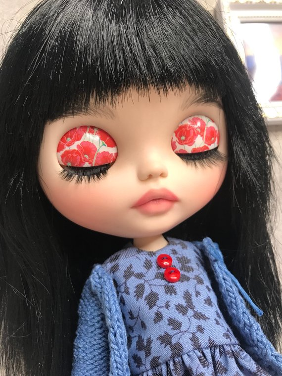 Halle - Custom Blythe Doll One-Of-A-Kind OOAK Sold-out Custom Blythes