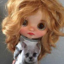 Piper – Custom Blythe Doll OOAK
