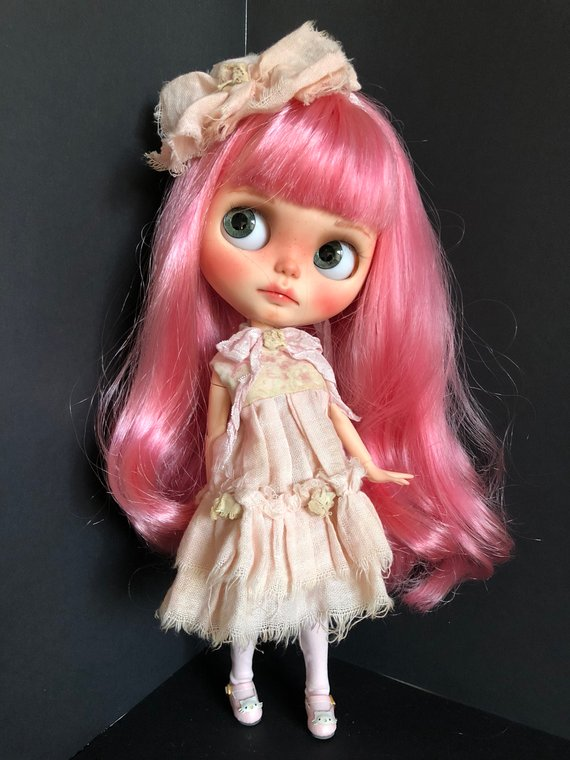 Amirah - Custom Blythe Doll One-Of-A-Kind OOAK Sold-out Custom Blythes