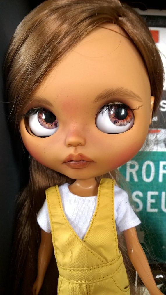 Agnès - Custom Blythe Doll One-Of-A-Kind OOAK Sold-out Custom Blythes