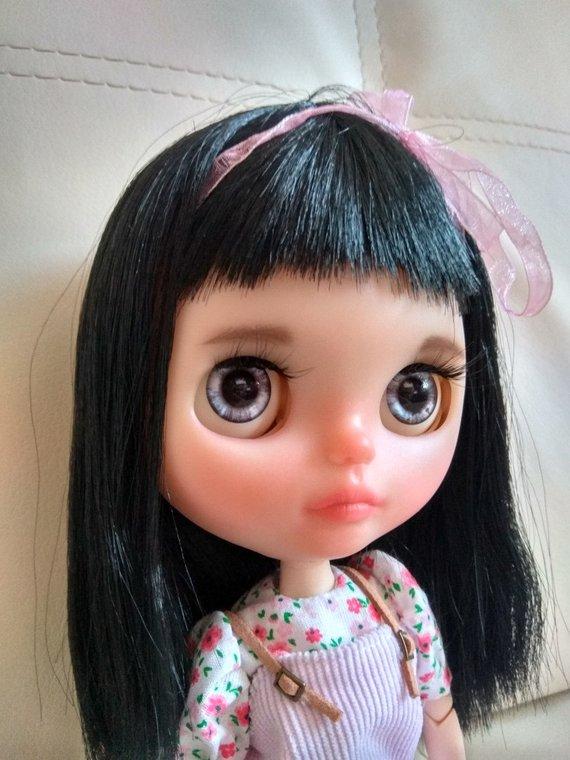 Lisa - Custom Blythe Doll One-Of-A-Kind OOAK Sold-out Custom Blythes