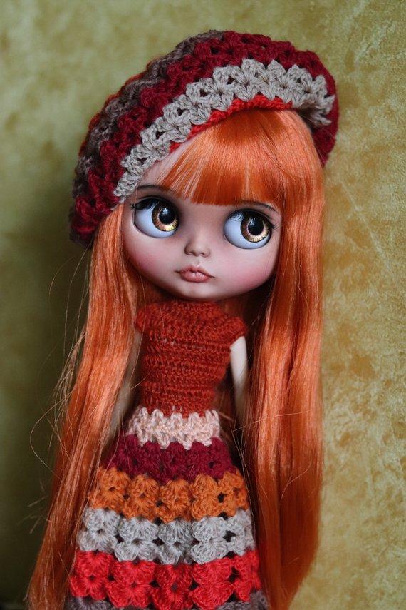 Suok - Custom Blythe Doll One-Of-A-Kind OOAK Sold-out Custom Blythes