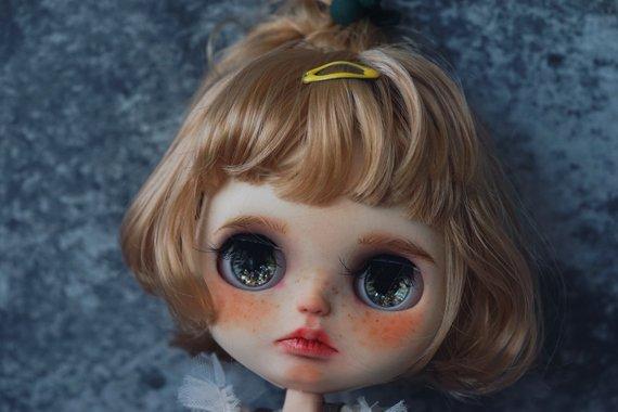 Amya - Custom Blythe Doll One-Of-A-Kind OOAK Sold-out Custom Blythes