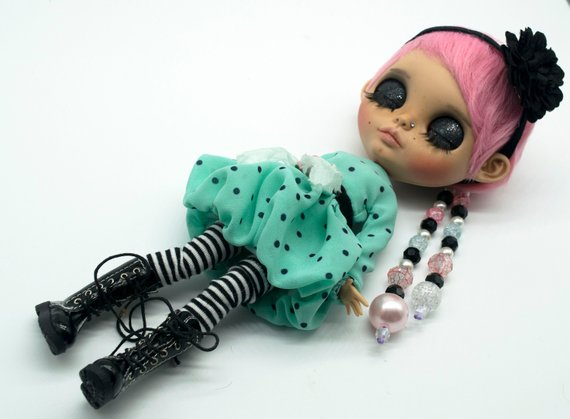 Lucille - Custom Blythe Doll One-Of-A-Kind OOAK Sold-out Custom Blythes