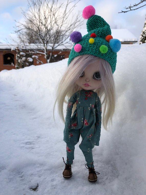 Yolka - Custom Blythe Doll One-Of-A-Kind OOAK Sold-out Custom Blythes