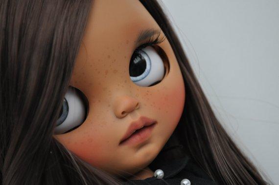 Milena - Custom Blythe Doll One-Of-A-Kind OOAK Sold-out Custom Blythes