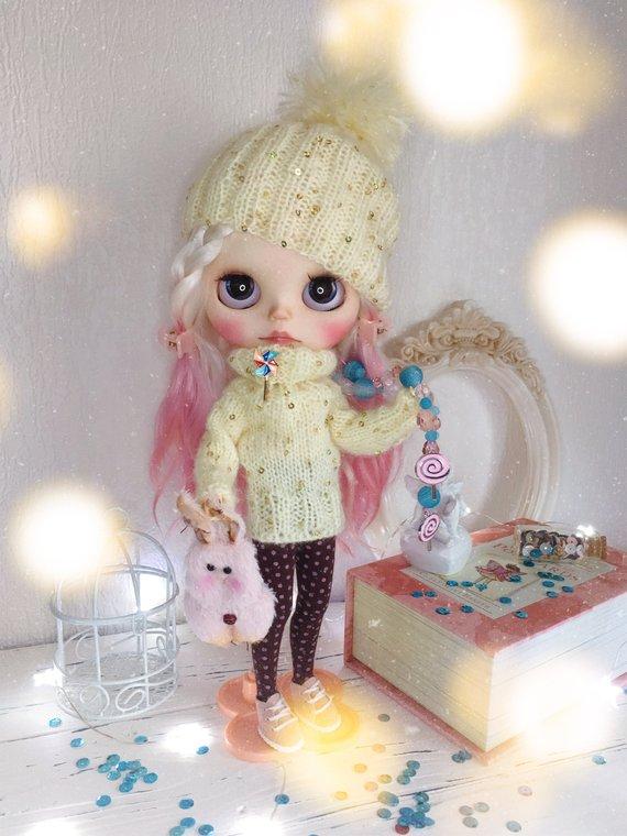 Olga - Custom Blythe Doll One-Of-A-Kind OOAK Sold-out Custom Blythes