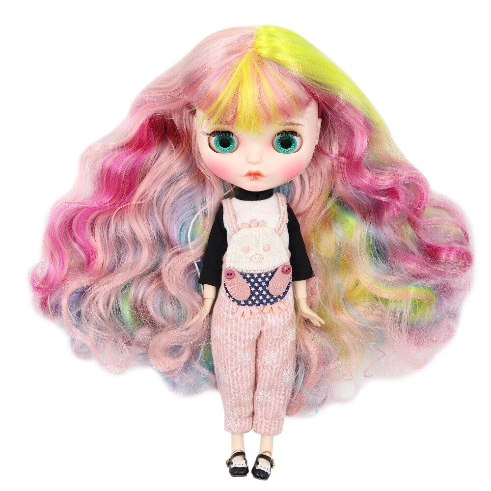 leah custom blythe doll