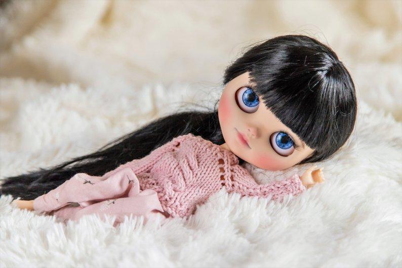 Laila - Custom Blythe Doll One-Of-A-Kind OOAK Sold-out Custom Blythes