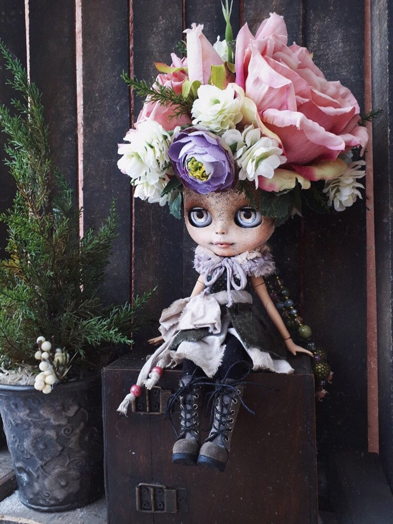 Elianna - Custom Blythe Doll One-Of-A-Kind OOAK Sold-out Custom Blythes
