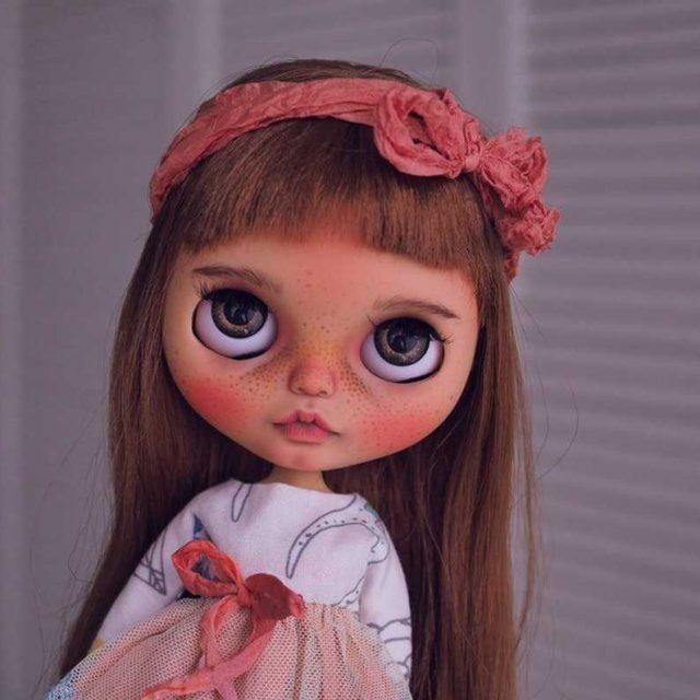 Ena – Custom Blythe Doll One-Of-A-Kind OOAK