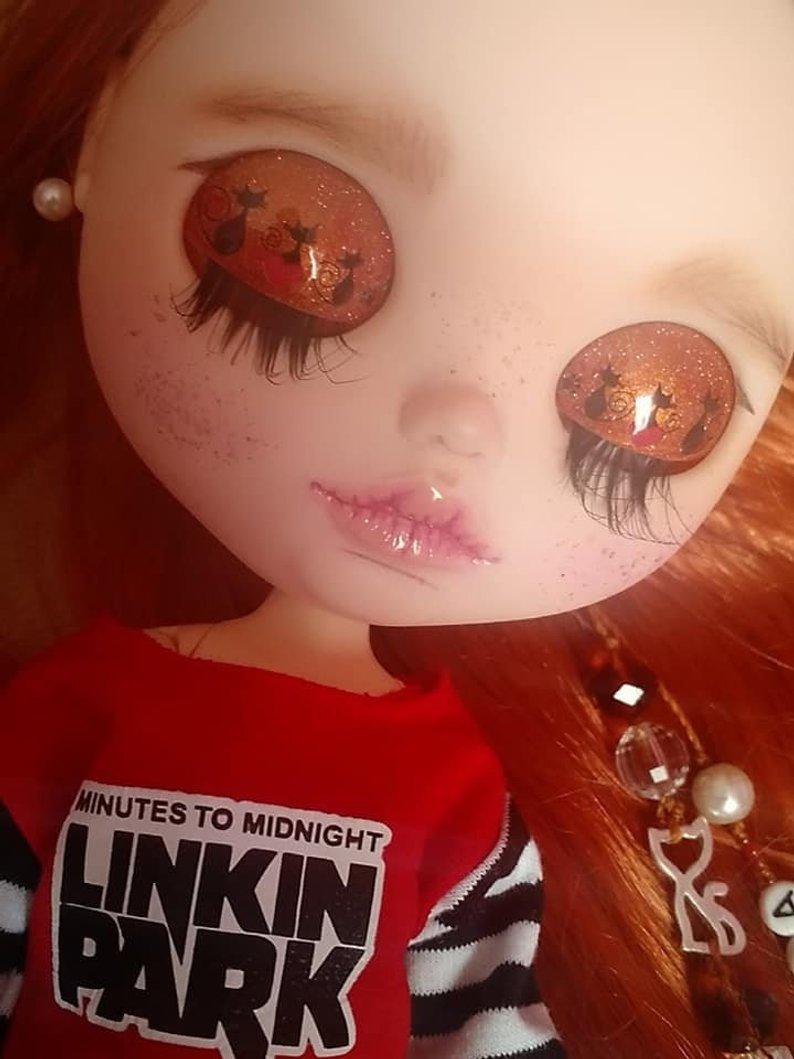 Emma - Custom Blythe Doll One-Of-A-Kind OOAK Sold-out Custom Blythes