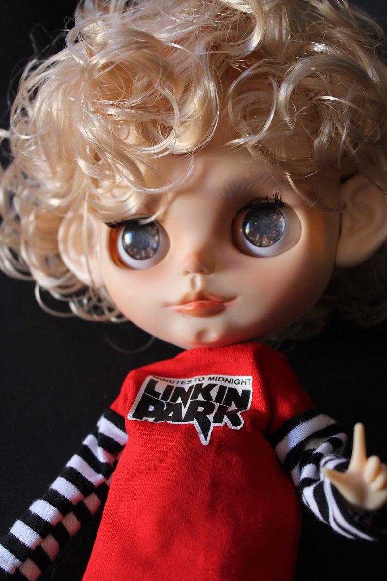 Ricky - Custom Blythe Doll One-Of-A-Kind OOAK Sold-out Custom Blythes