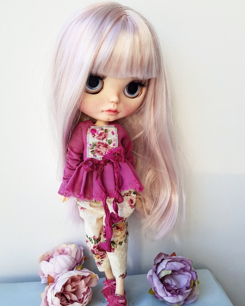 Charlize - Custom Blythe Doll One-Of-A-Kind OOAK Sold-out Custom Blythes