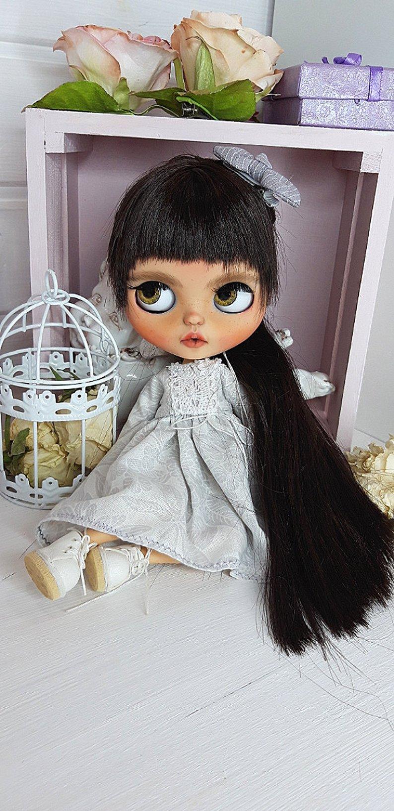 Amanda - Custom Blythe Doll One-Of-A-Kind OOAK Sold-out Custom Blythes