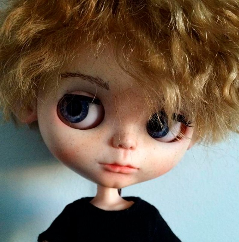 Mitya - Custom Blythe Doll One-Of-A-Kind OOAK Sold-out Custom Blythes